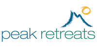 Peak Retreats logo